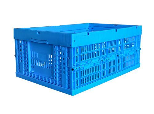 周转纸箱的天敌来了,折叠式塑料周转筐被广泛应用