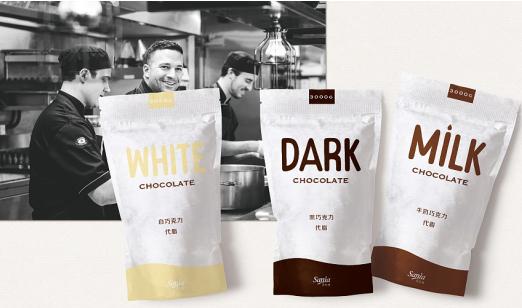 五种常见的巧克力的包装材料简介