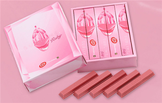 NESTLÉ'S KITKAT TO TURN PINK NOW