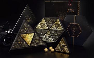 高颜值的巧克力礼盒包装,送礼绝不会错!